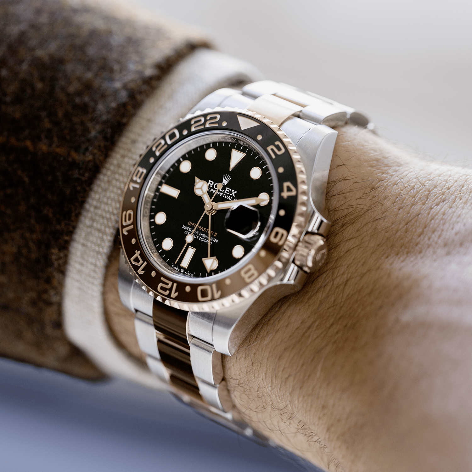 Rolex Oyster Perpetual GMT-Master II In Everose Rolesor - Kee Hing Hung