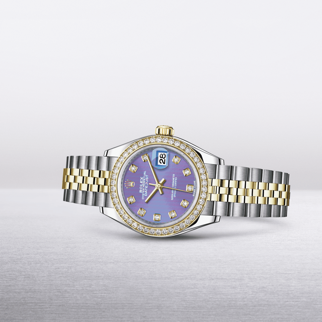 Rolex Oyster Perpetual Lady- Datejust 28 In Yellow Rolesor - Kee Hing Hung