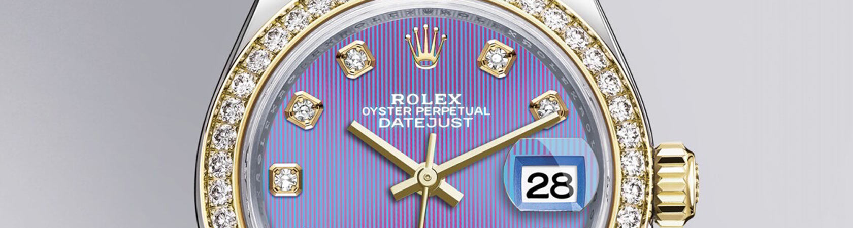 Rolex Oyster Perpetual Lady-Datejust 28 in Yellow Rolesor - Kee Hing Hing