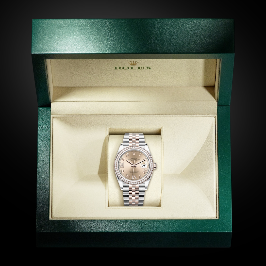 Rolex Oyster Perpetual Datejust 36 In Everose Rolesor - Kee Hing Hung
