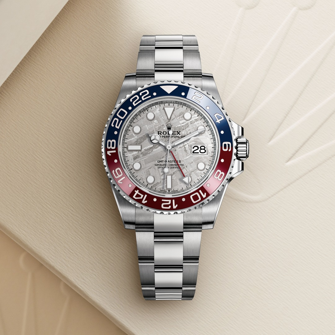 Rolex Oyster Perpetual GMT-Master II With A Meteorite Dial - Kee Hing Hung