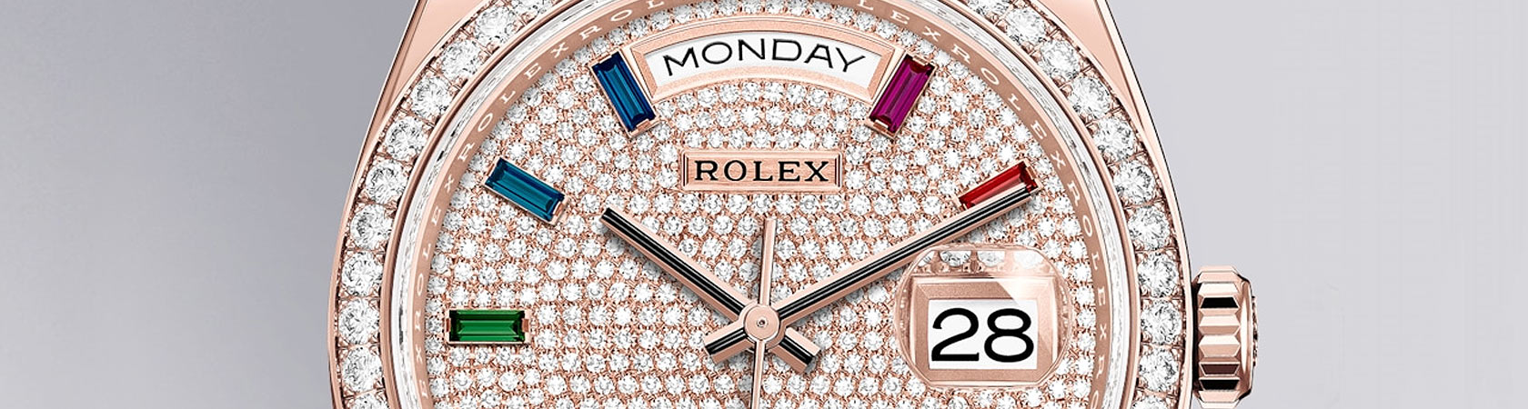 Rolex Oyster Perpetual Day-Date 36 in 18ct Everose Gold - Kee Hing Hung